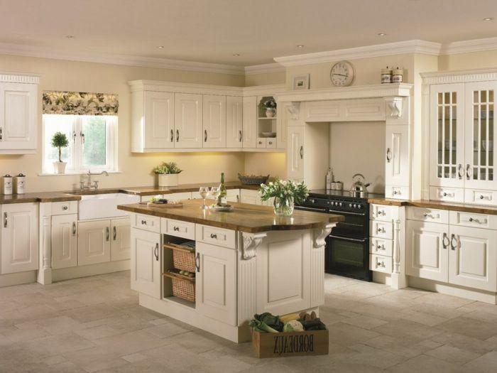 küche streichen in creme gemütlich und frisch die küchenzeile - küche streichen welche farbe