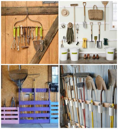 12 Garden Tool Racks You Can Easily Make With Images Garden