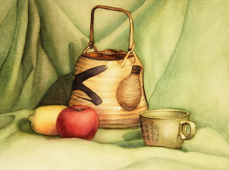 Watercolour Paintings Art Is Asian New Contemporary Classical Realism Art Courses In Singapore Still Life Painting Watercolor Art