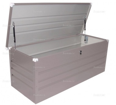 Metal Storage Chest 406 Low Maintenance Galvanized Steel With Images Storage Chest Storage Steel Cladding