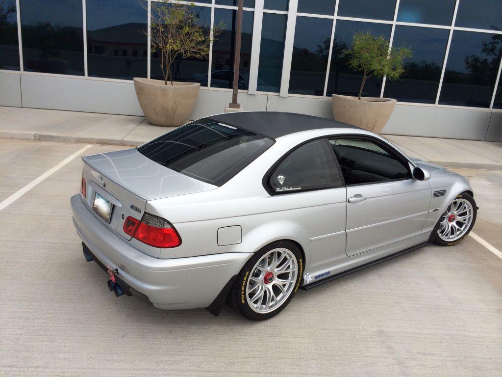 Fs 2004 E46 M3 Silver On Imola Red Centerlock Wheels Daily