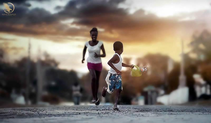 Fotografias de Adrian McDonald (Jamaica)  + no link: http://meiaseis.com/blog/fotografi…