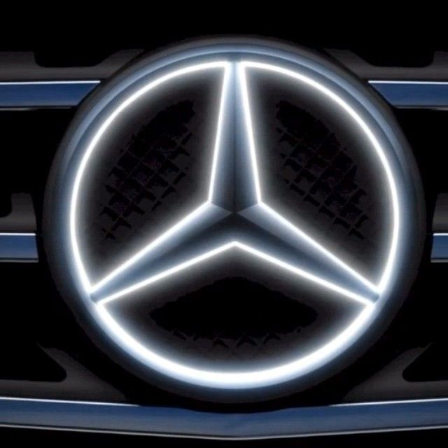 Our Star Has Always Shone Bright But Never Quite Like This The Eye Catching Illuminated Star Is On Mercedes Benz Logo Mercedes Benz Accessories Mercedes Benz