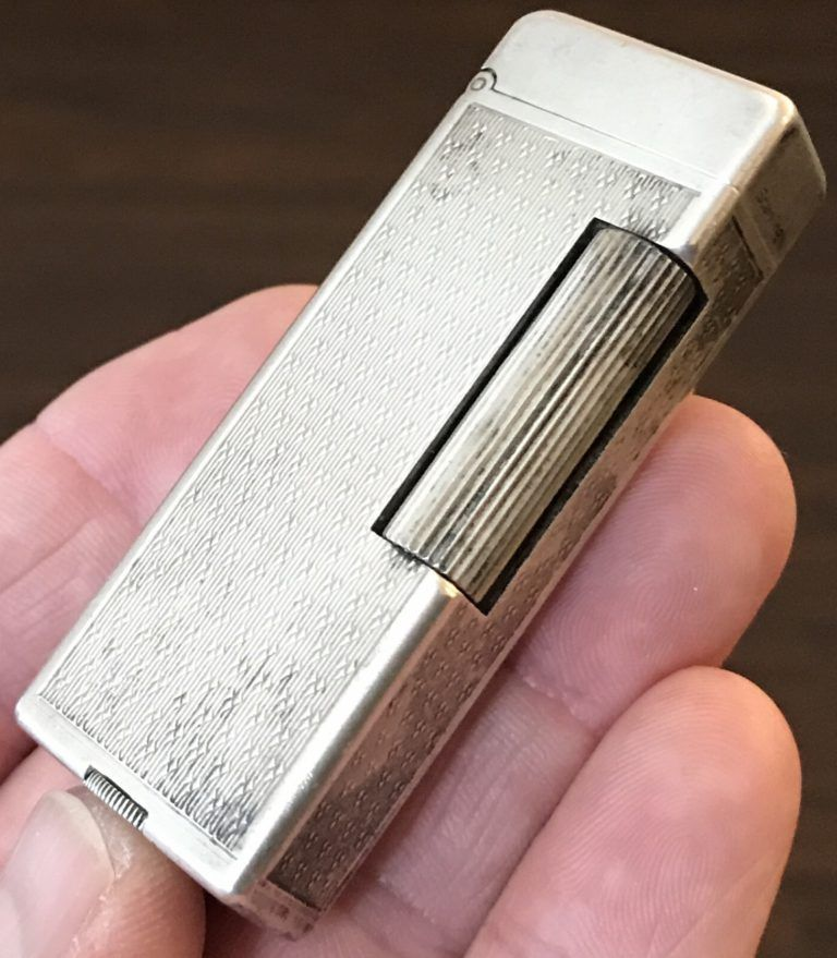 Dunhill Rollalite Petrol Lighter An Elegant Reliable Classic
