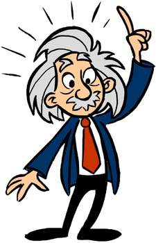 einstein clip art school logo einstein and worksheets rh pinterest com physik albert einstein clipart Albert Einstein Cartoon