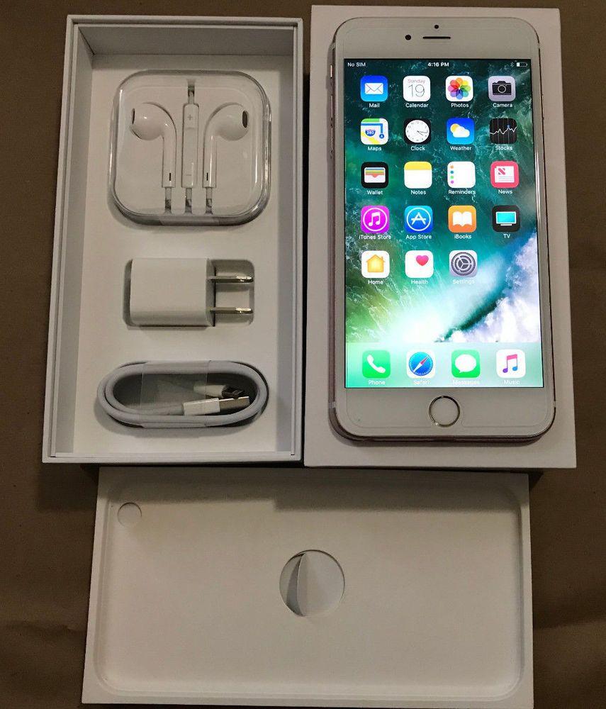 Apple Iphone 6s Plus 64gb Rose Gold Factory Unlocked 4g Lte