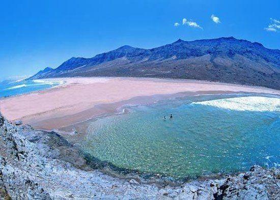 Playa De Cofete Fuerteventura Canary Islands Fuerteventura Canary Islands Spain