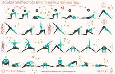 12 christmas sequences — yogaru in 2020  12 christmas