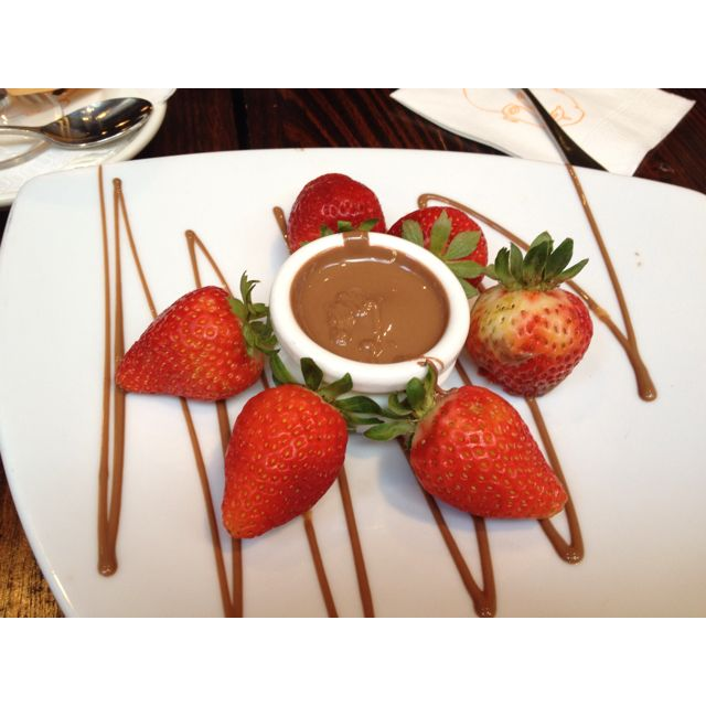 Max Brenner's, chocolate heaven!