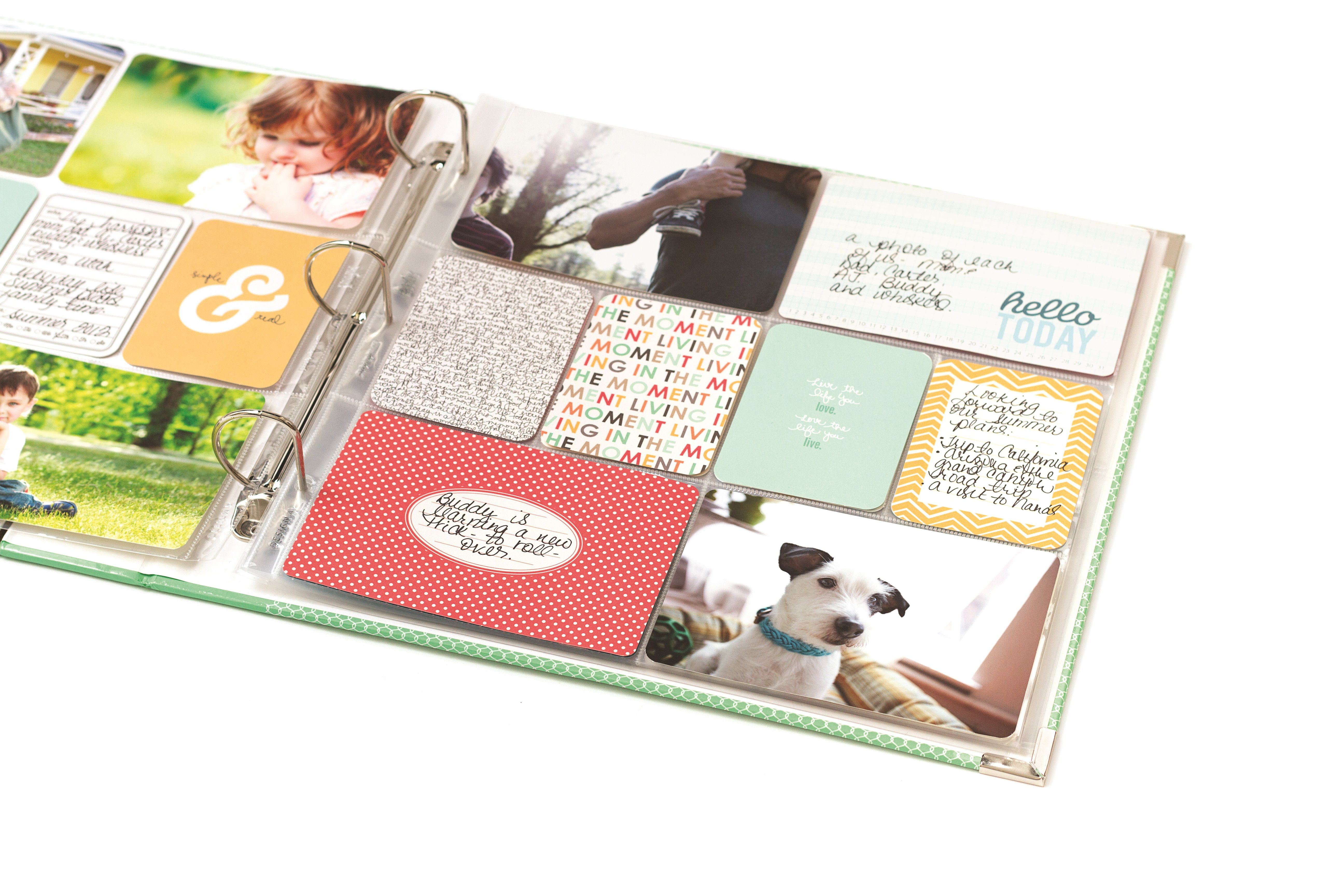 Jade Kit Project Life Sample