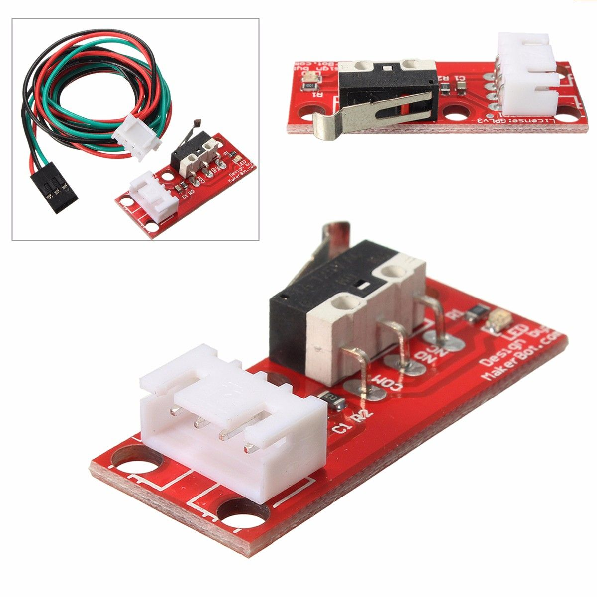 10pcs mechanical end stop endstop limit switch with cable for cnc on cnc limit switch wiring diagram arduino arduino motor limit switch Transceiver Block Diagram