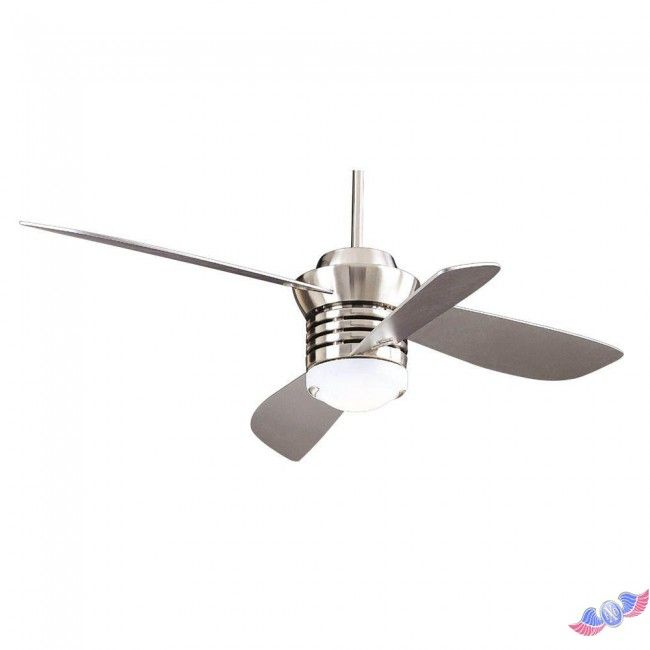 Hampton Bay Pilot 60 In And 52 Brushed Nickel Ceiling Fan
