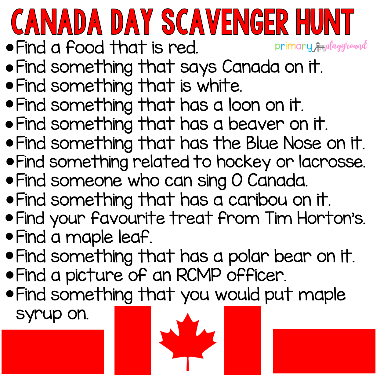 Scavenger Hunts In