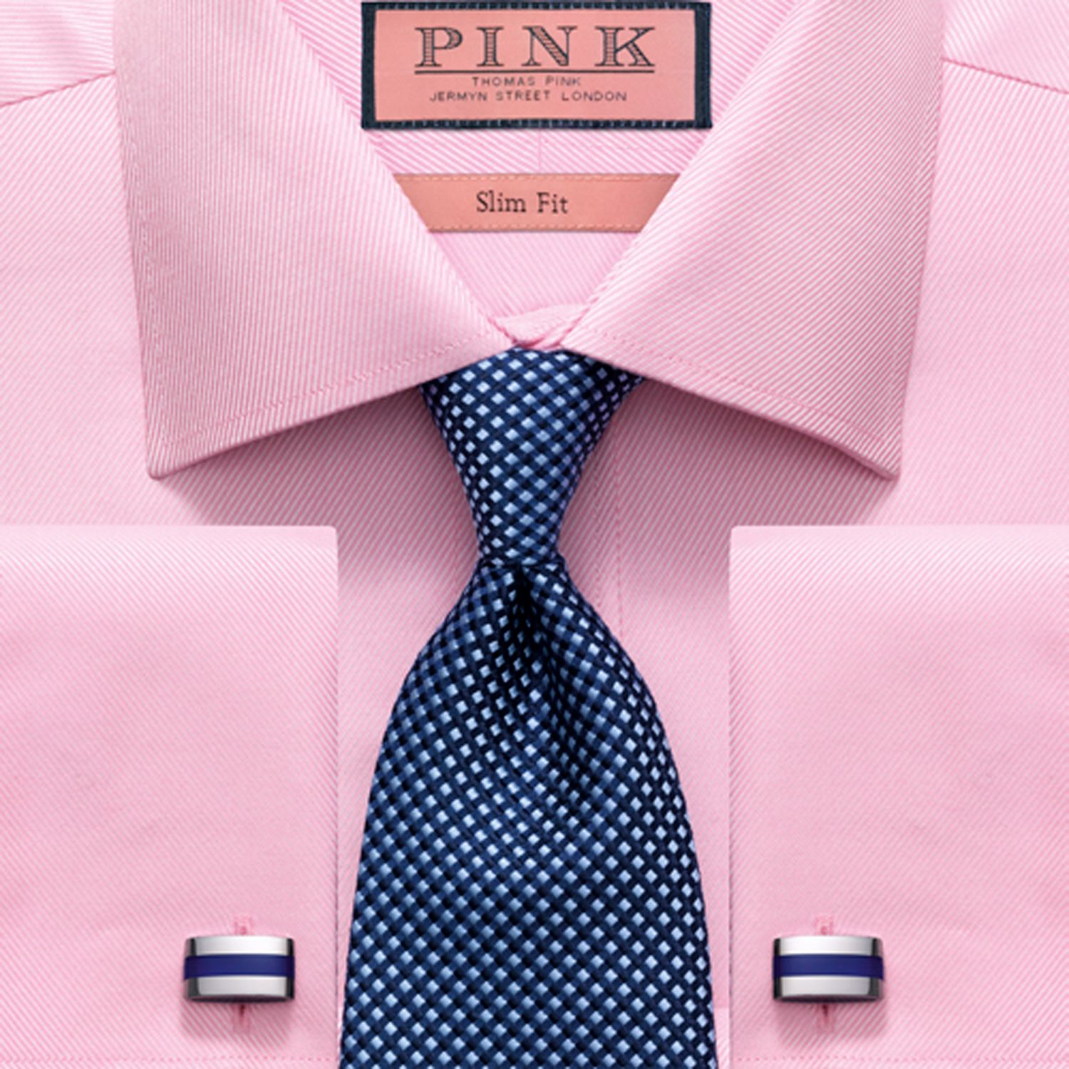 How to Match a Tie with a Dress Shirt | Striped shirts, Pink dot ...