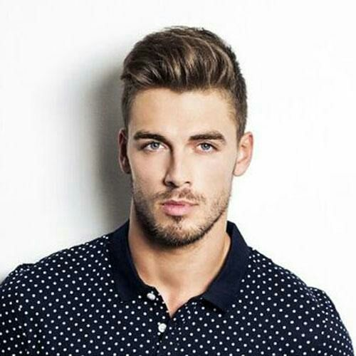 Hairstyle For Man Best College Haircut Model Dima Gornovskyi
