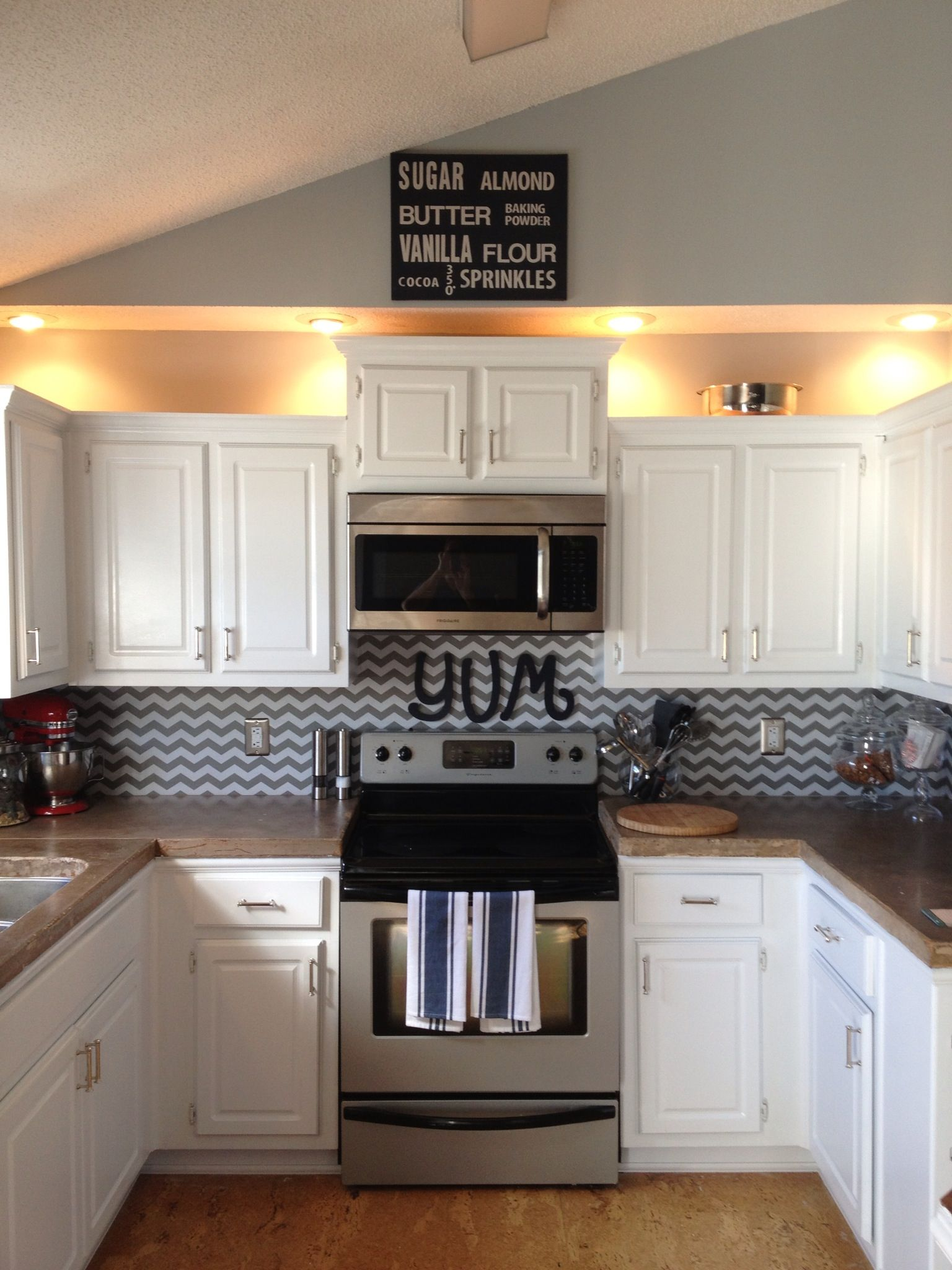 kitchen decor backsplash is a shelf liner found at marshall s