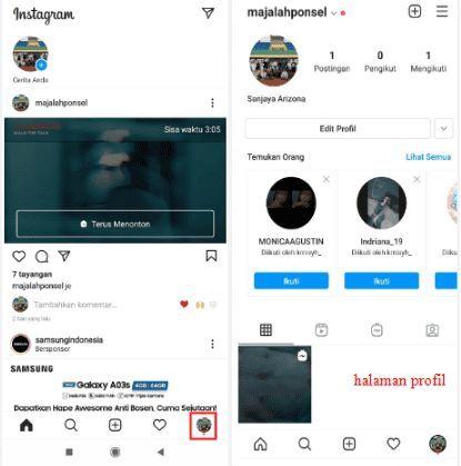cara arsipkan igtv di instagram
