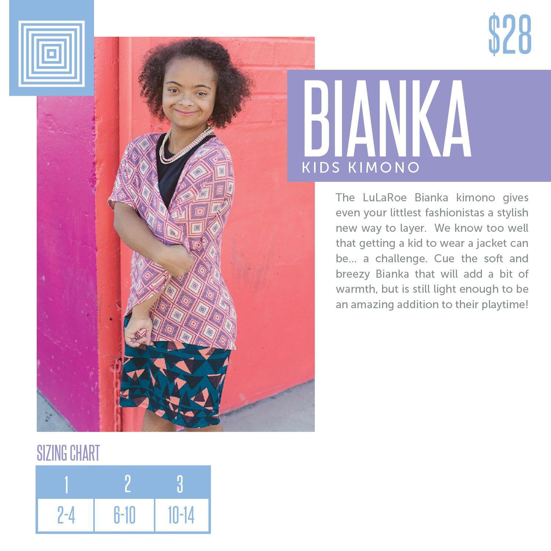 Lularoe Bianka Product Description And Sizing Chart Lularoejoanneblack Lularoetuliplady Lularoebianka Www Houseofblackllc