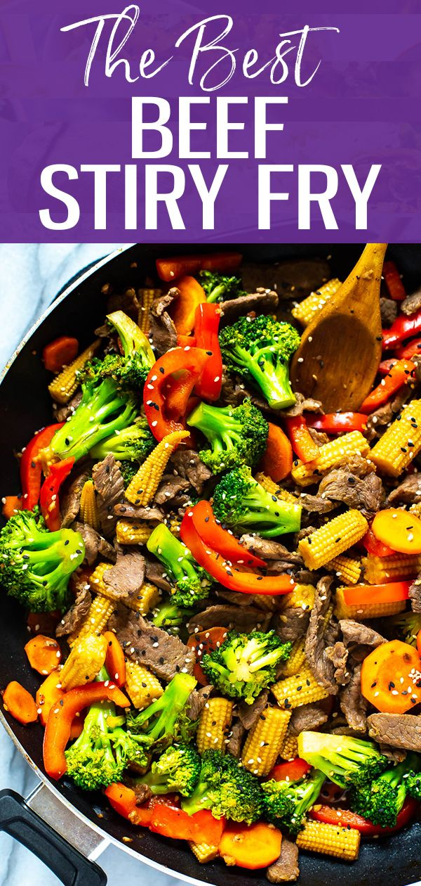 The Easiest Beef Stir Fry (Plus 2-Ingredient Sauce!) - The Girl on Bloor