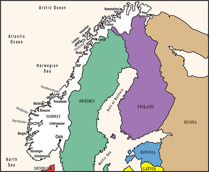 NORWEGIAN Is Spoken In Norway And Svalbard All Things - Where is norway