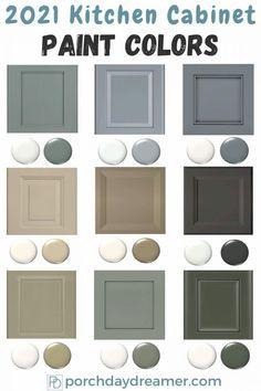 Kitchen Cabinet Paint Color Trends