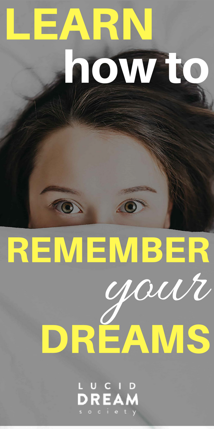 How to remember your dream 56
