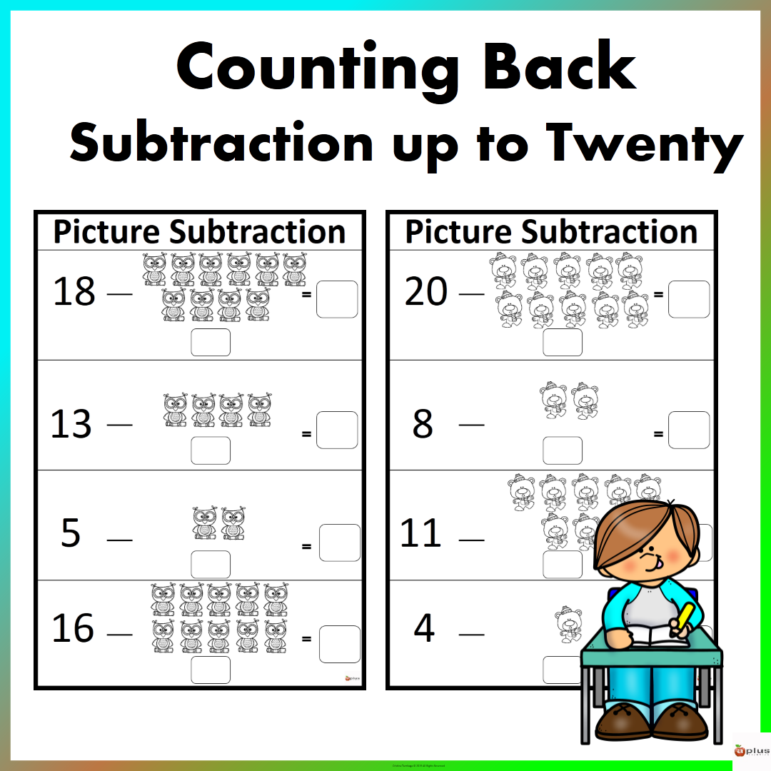 Picture Subtraction Counting Back With Images