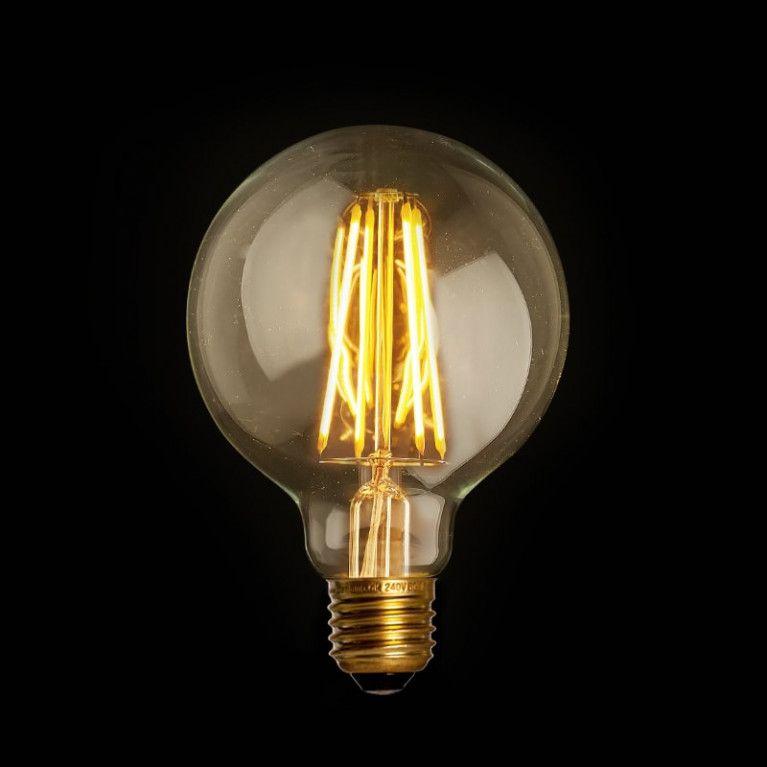 Elegant Filament LED Lamp Globe Mini Gold E