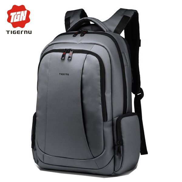 2017 Tigernu Large Capacity Anti Theft Waterproof Mochila Womens Mens Backpacks Bags Casual Business Laptop Backpack 17 Inch
