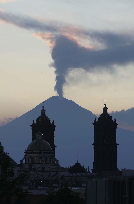 Popocatépetl, Mexico