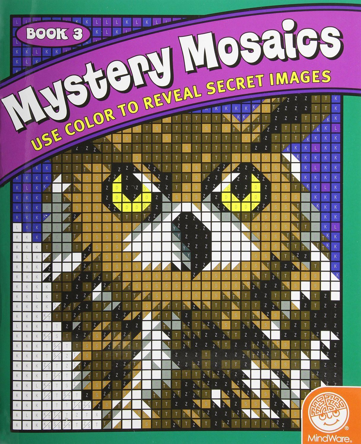 Mystery Mosaics Coloring Book 3 | dot to dot / coloring by numbers ...