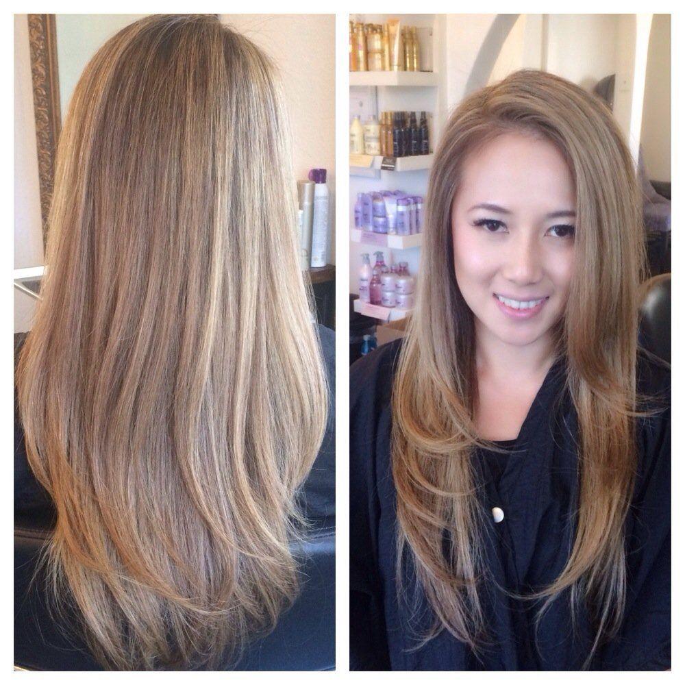 Mix A Boutique Salon Yelp Blonde Asian Hair Hair Styles Asian Hair