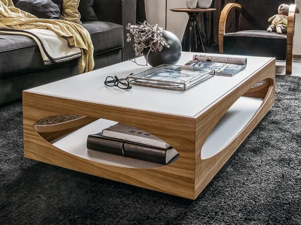 Classic Wooden Storage Osowa Coffee By Tonin Casa With Glass Shelves Coffee Table Modern Coffee Tables Centre Table Design