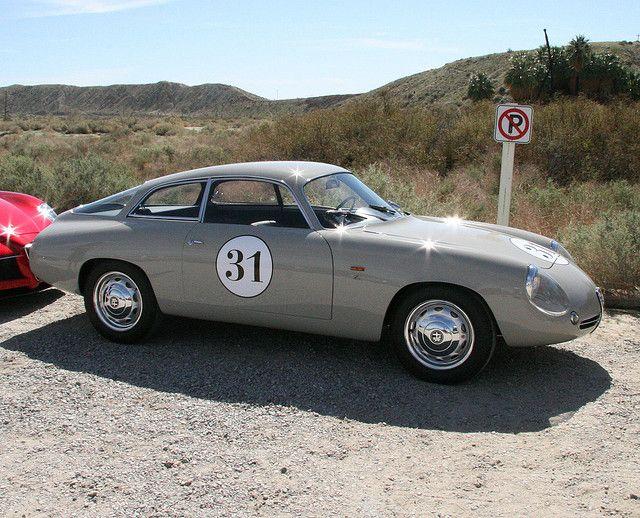 Alfa Romeo SZ Zagato Coda-Tronica 1961