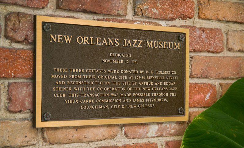 New Orleans Jazz Museum - Hotel St. Pierre