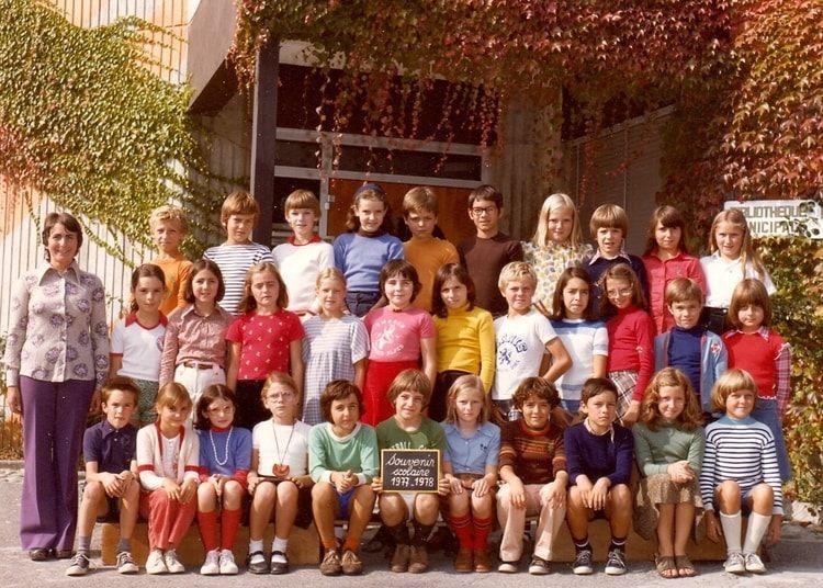 Photo de classe CM2 1977/1978 de 1977, ECOLE GRAND PRE - Copains d'avant