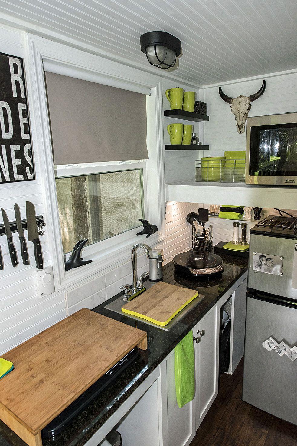 Best Butcher Block Counter On Range Sink Mendy S Shoebox Tiny 640 x 480