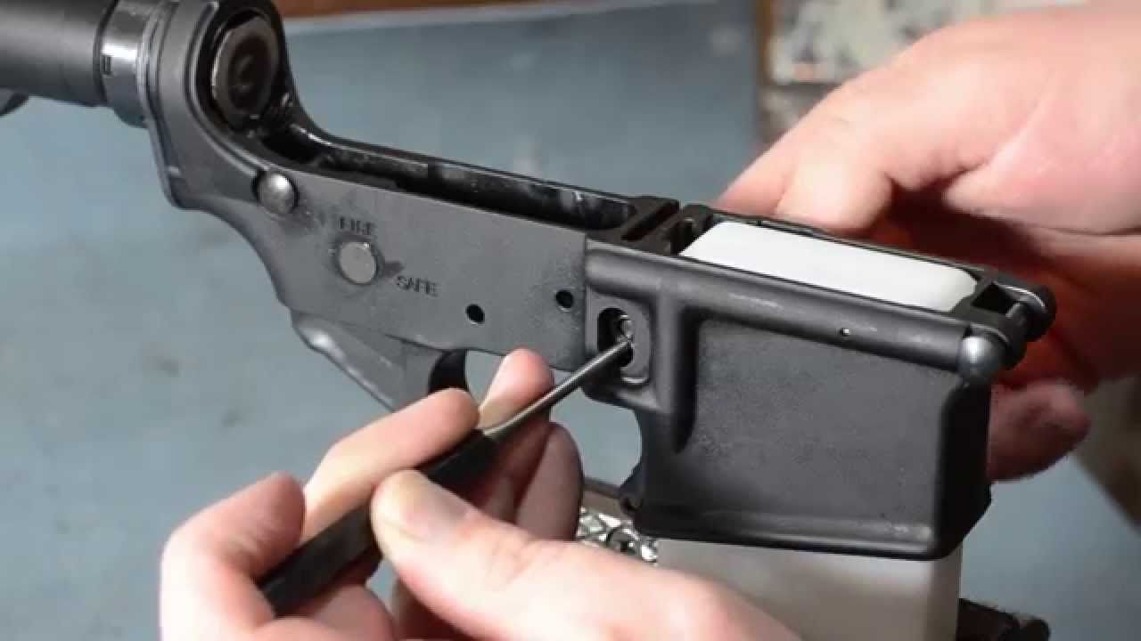 AR-15 - Detailed Step By Step Assembly / Build Instructions (HD) Proper way of AR Assembly W/4 basic tools.