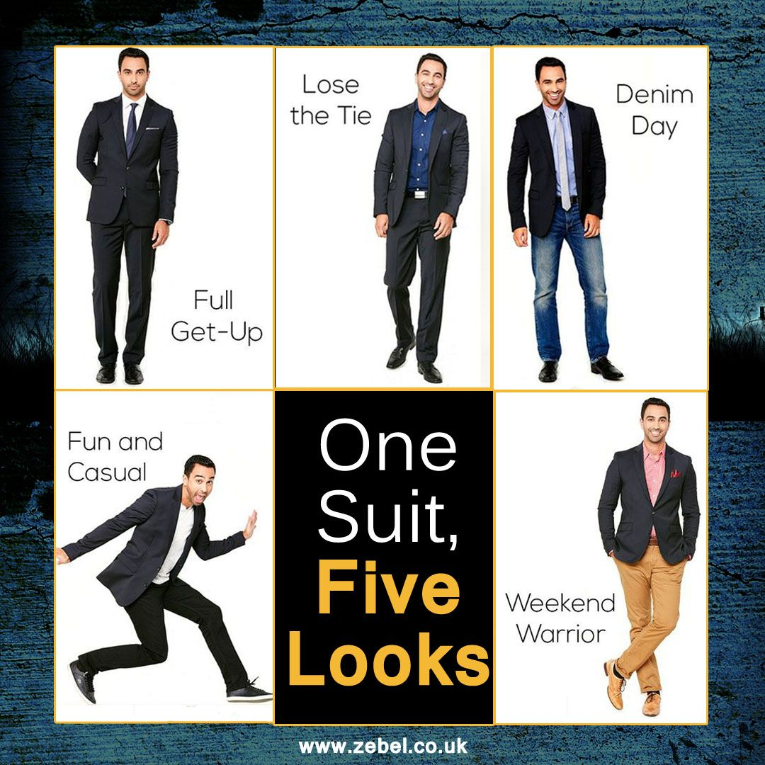 Add variety to your sophistication with just one suit
