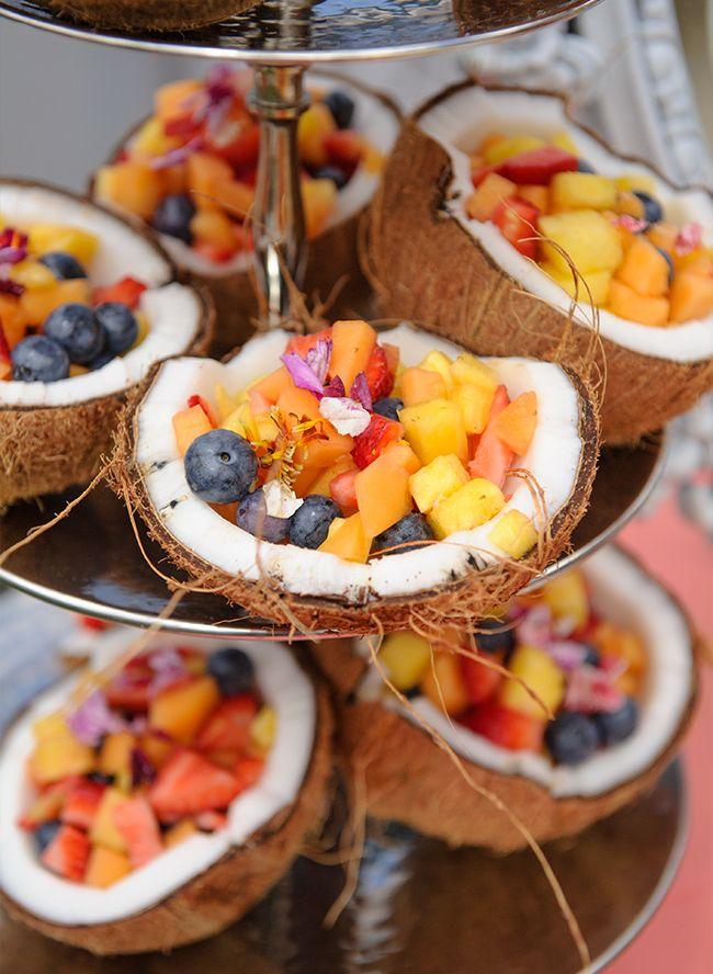 Beach Wedding Food