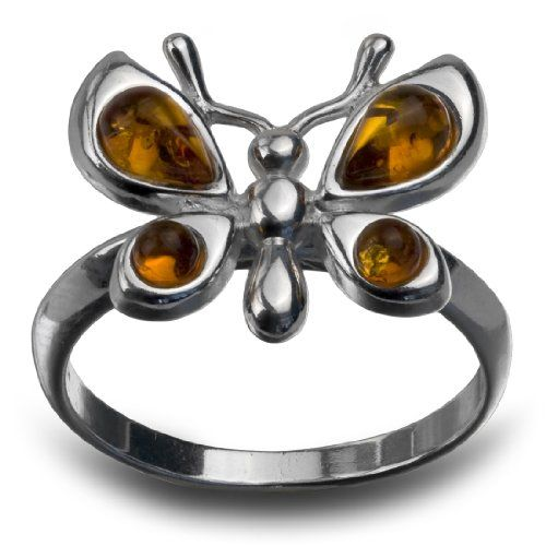 Sterling Silver Amber Butterfly Design Ring Amber by Graciana http://www.amazon.com/dp/B00CSN7DK2/ref=cm_sw_r_pi_dp_UiURwb0DEMEJ7