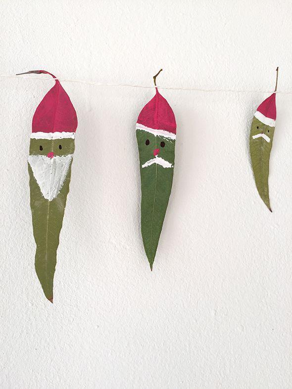 Weihnachtsgirlande / Guirnalda de navidad / Christmas garland ...