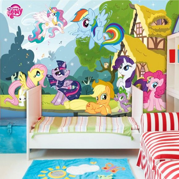 My Little Pony Wall Mural Walplus Wall Stickers Private Sales