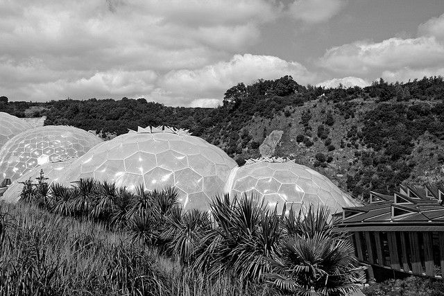 The Eden Project, Cornwall - A vast botanical, conservation and architectural attraction, the Eden Project has Blue Badge parking for disabled visitors, wheelchairs available to borrow and buggies to transport people with mobility difficulties to the entrance