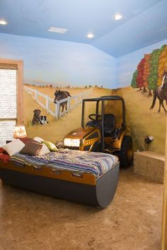 Tractor Themed Bedroom Google Search Ben Kids