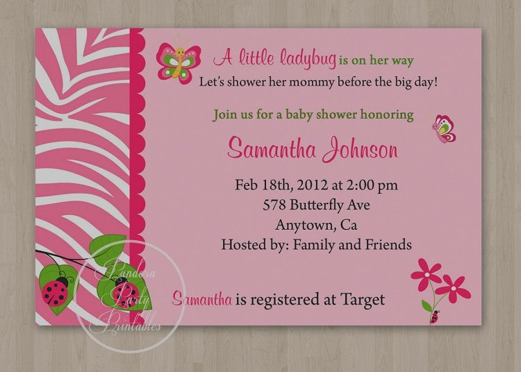 Butterfly Birthday Invitation Sayings