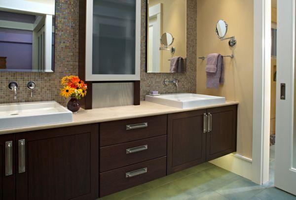27 Floating Sink Cabinets And Bathroom, Suspended Bathroom Vanity