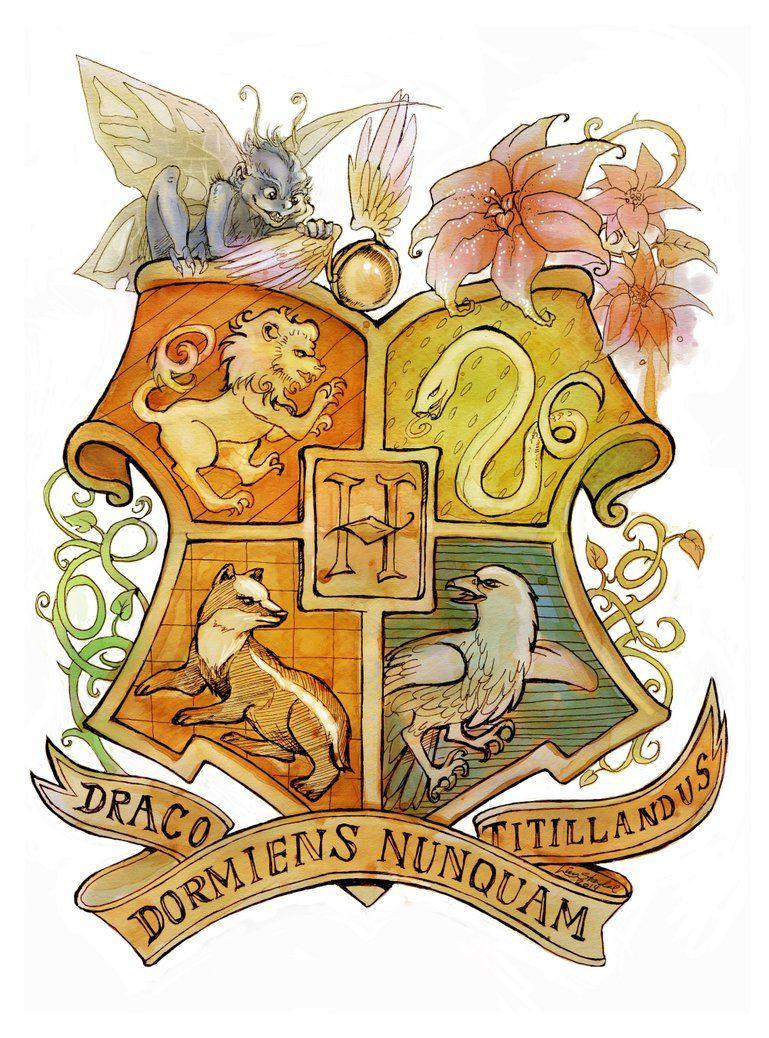 Hogwarts Crest Imagens Harry Potter Brasao Png Hogwarts
