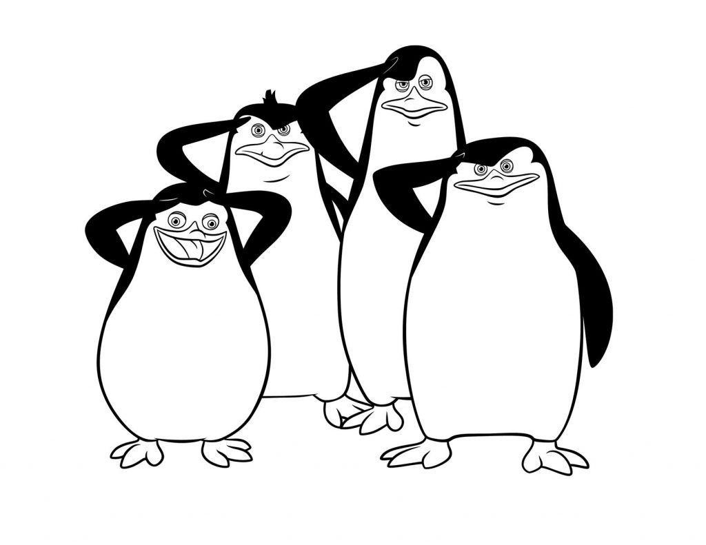 Desenhos Para Colorir Madagascar 11 Pinguins De Madagascar