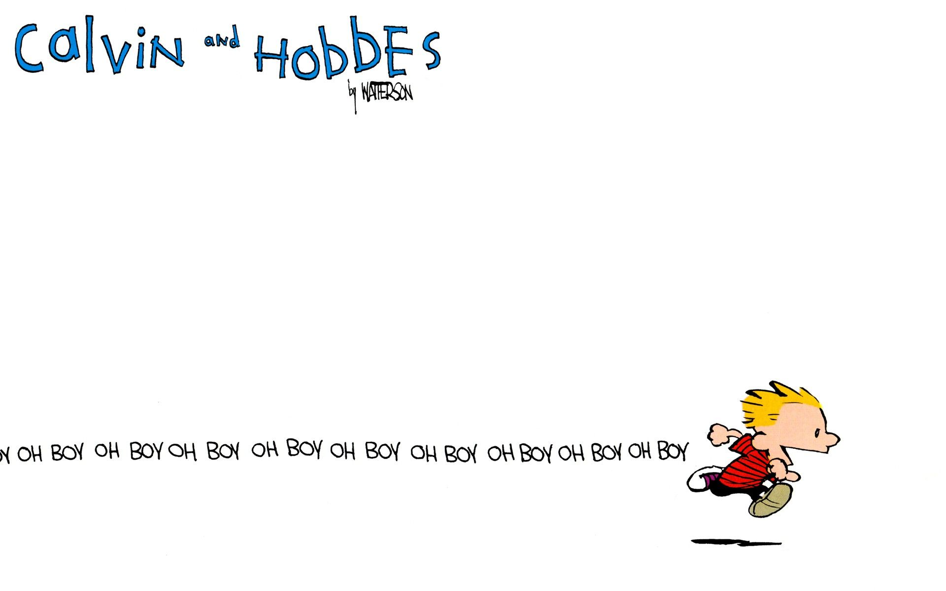 Calvin And Hobbes Wallpapers Because I Love You All